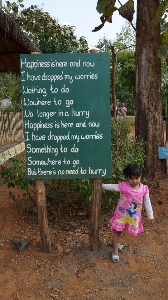 At the Children's Shelter Foundation in Chaing Mai, Thailand