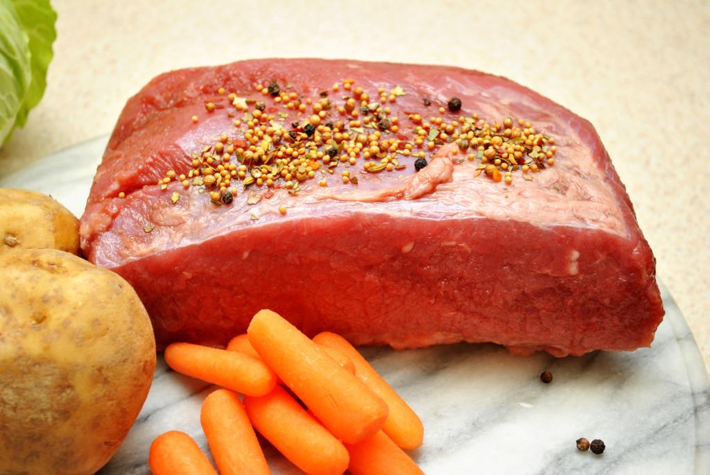 Uncooked Corned Beef Brisket